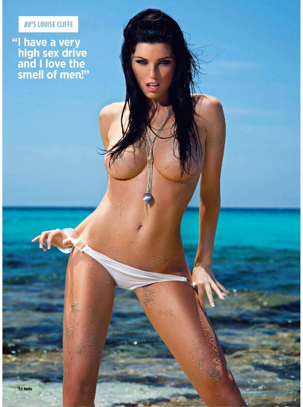 LOUISE CLIFFE hot topless pic