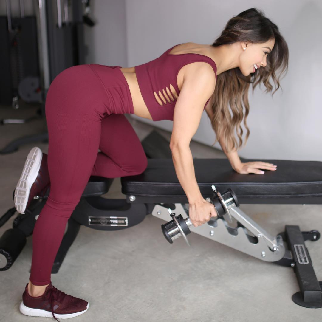 Lais Deleon on Exercise