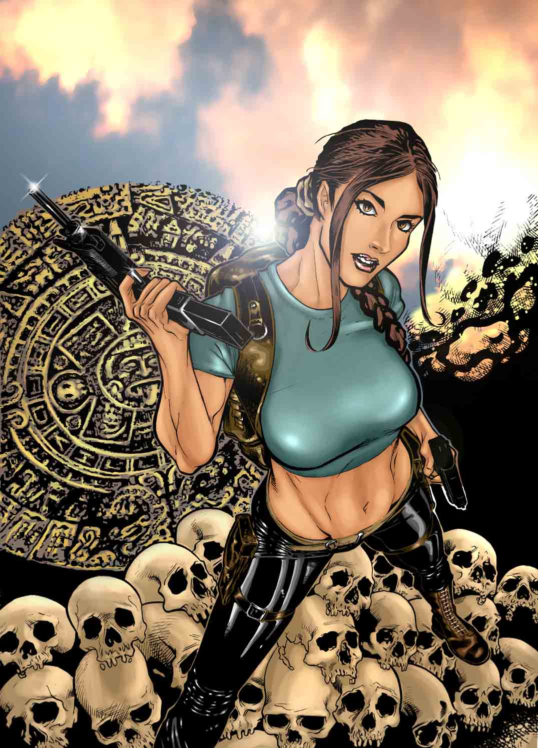 Lara Croft awesome pictures