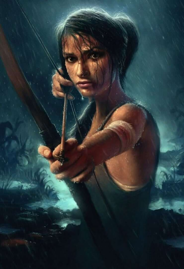 Lara Croft sexy side pcitures