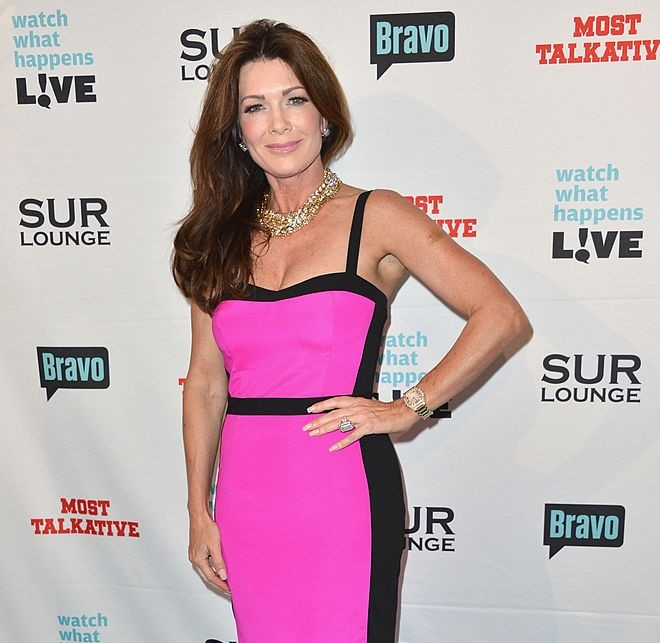 Lisa Vanderpump Beautifull Dress