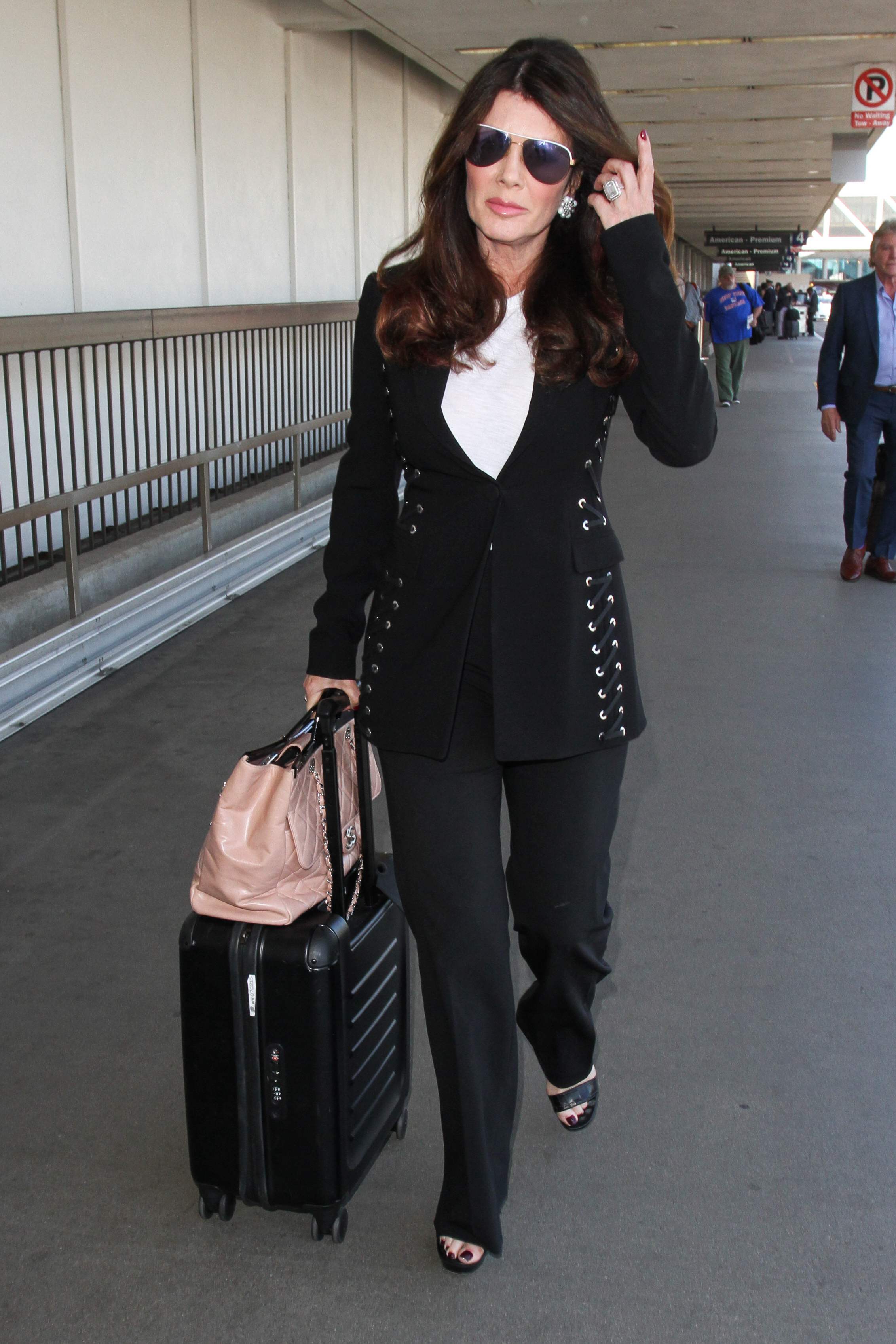 Lisa Vanderpump is dressed to do business