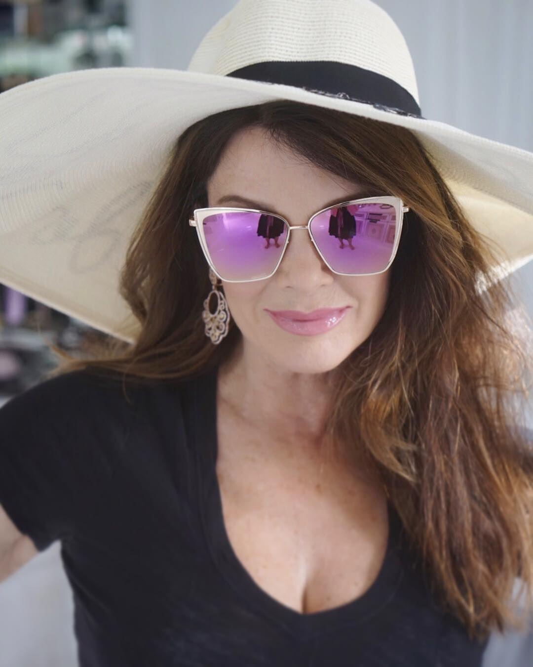 Lisa Vanderpump Hot in Hat