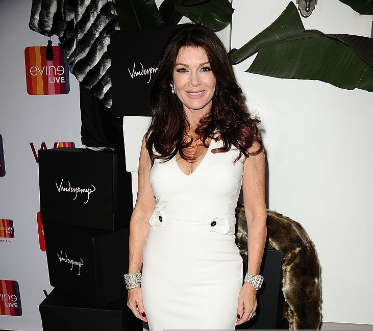 Lisa Vanderpump Hot in White Dress