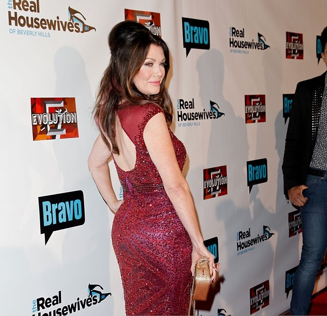 Lisa Vanderpump Sexy Back