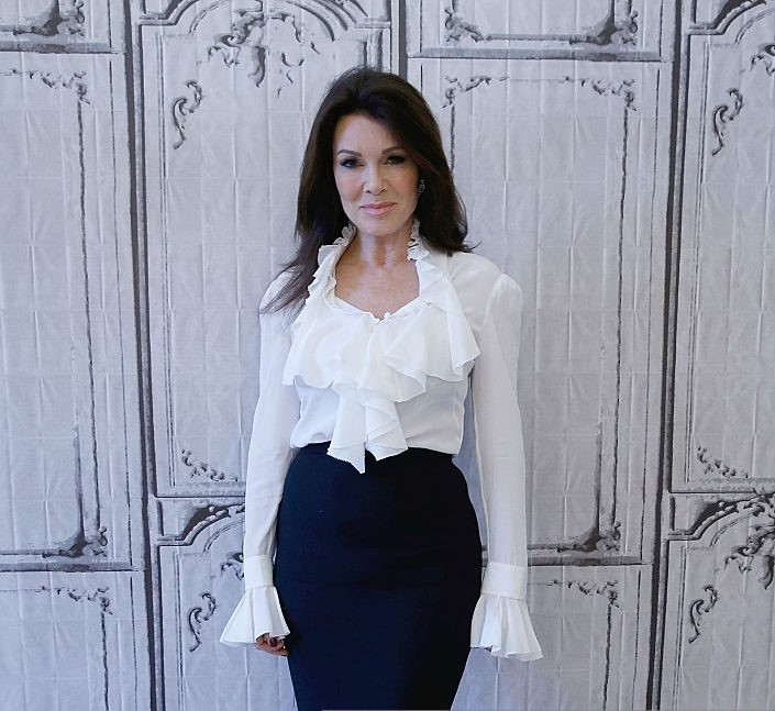Lisa Vanderpump on Official Dress