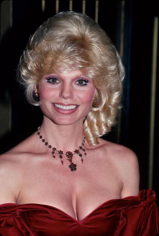Loni Anderson Beautifull Hairstyle