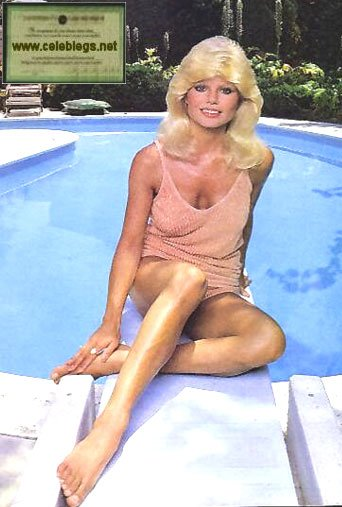 Loni Anderson Hot Feet