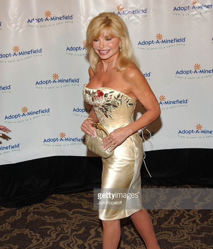 Loni Anderson Hot in Short Dress