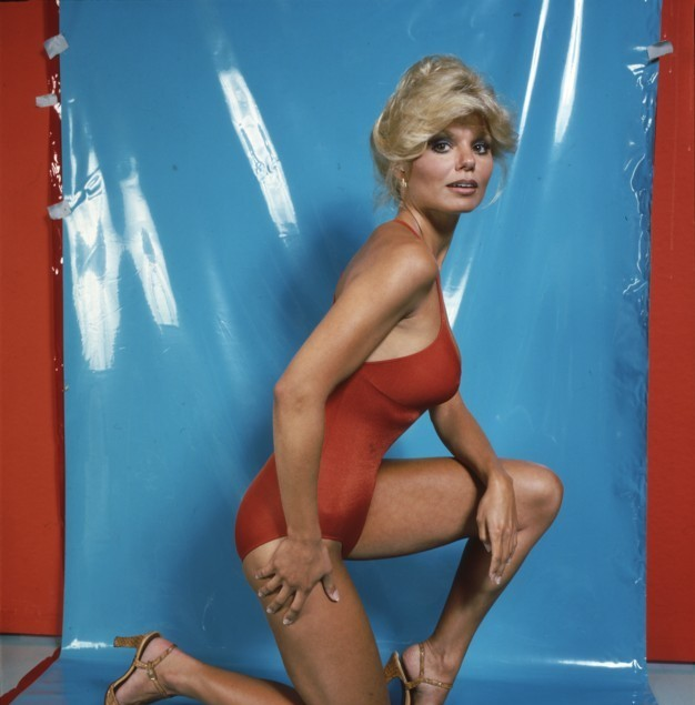 Loni Anderson on Swimming Costume