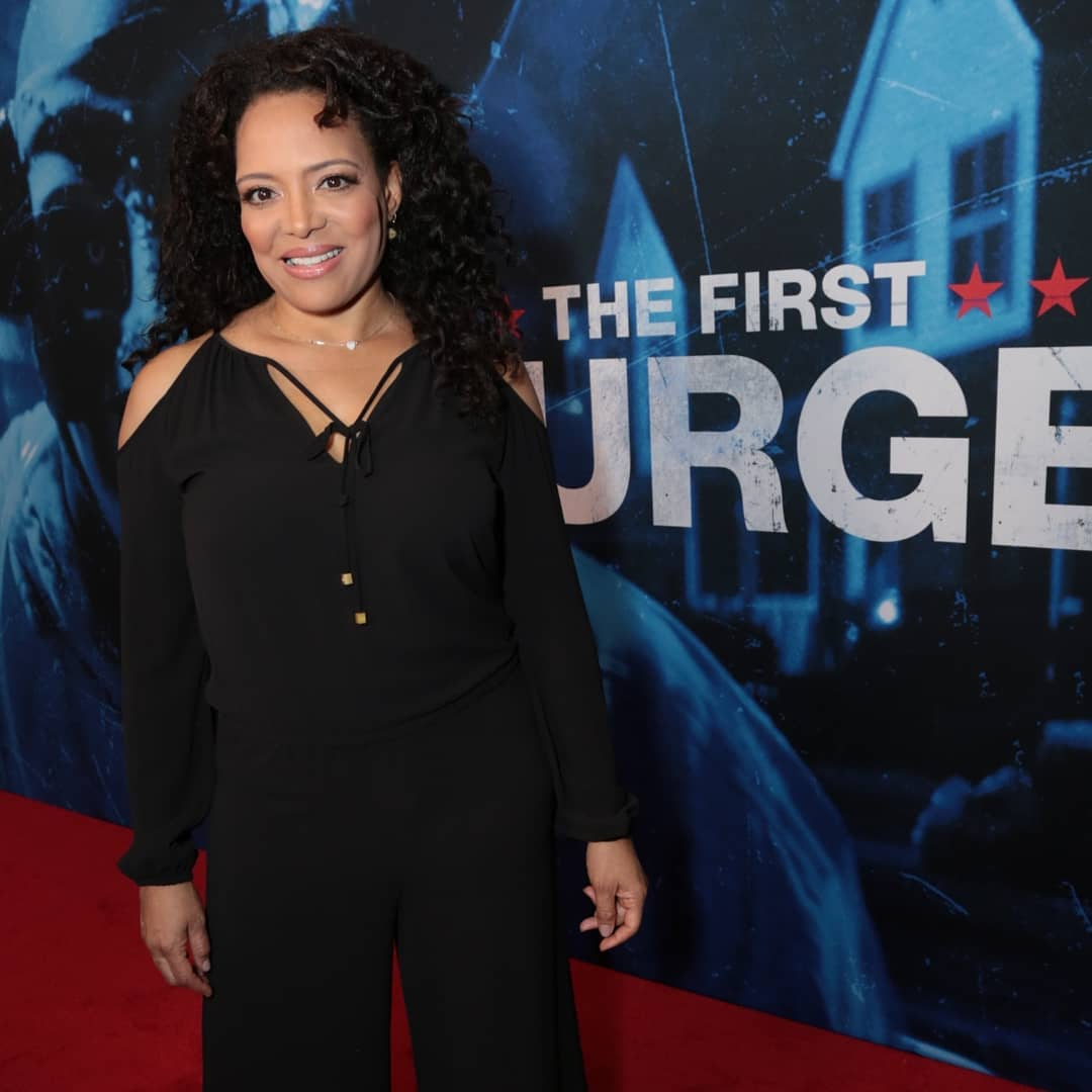 Luna Lauren Velez Hot in Black Dress