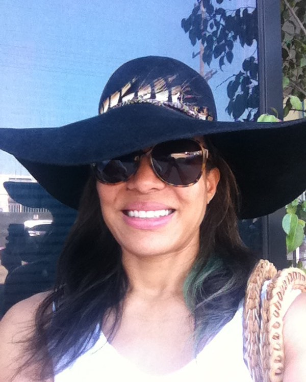 Luna Lauren Velez Hot in Hat