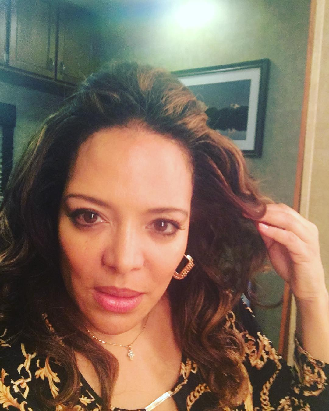 Luna Lauren Velez on PHotoshoot Pics