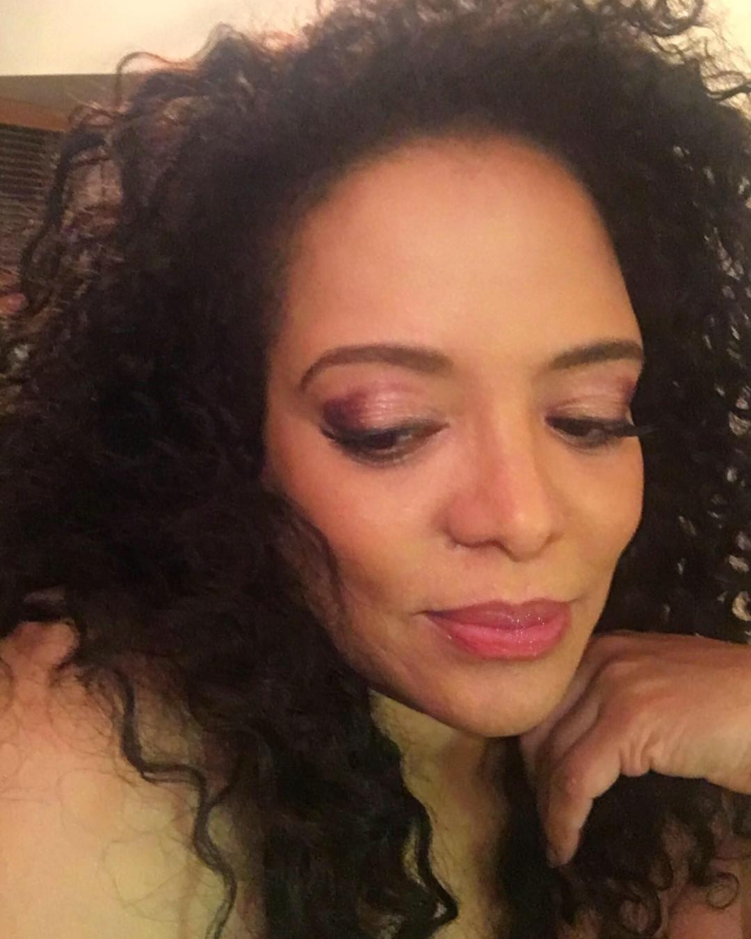 Luna Lauren Velez on Photoshoot Photo