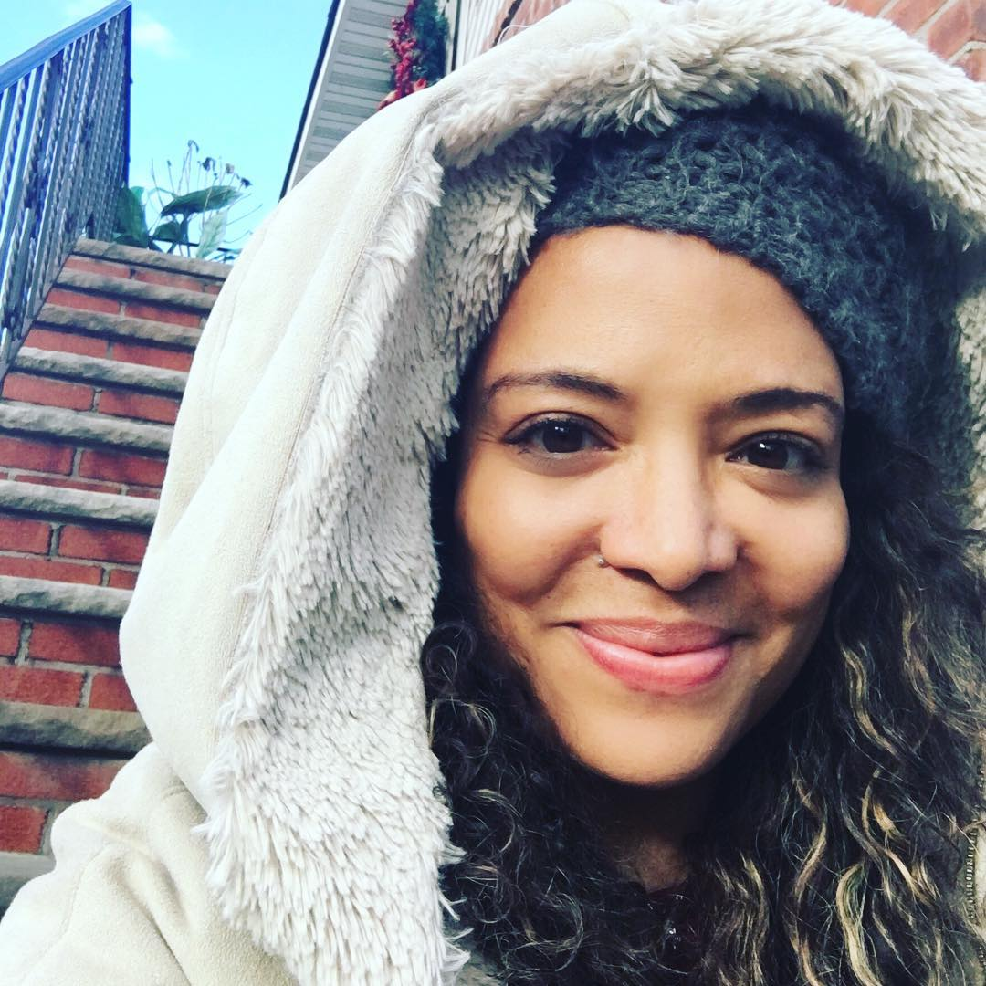 Luna Lauren Velez on Photoshoot