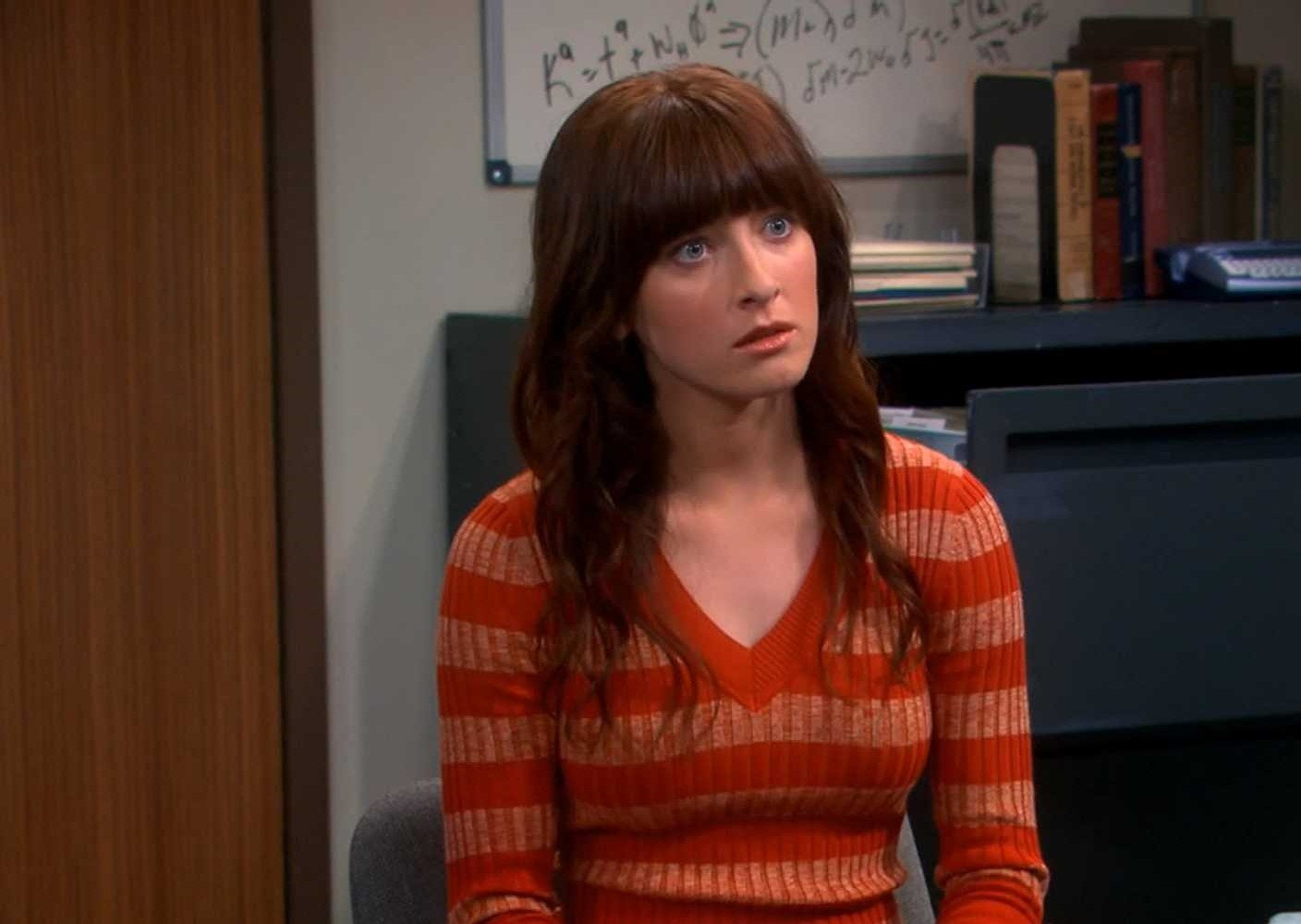 Margo Harshman on Suiting Pic