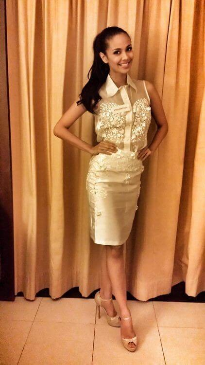 Megan Young awesome dress