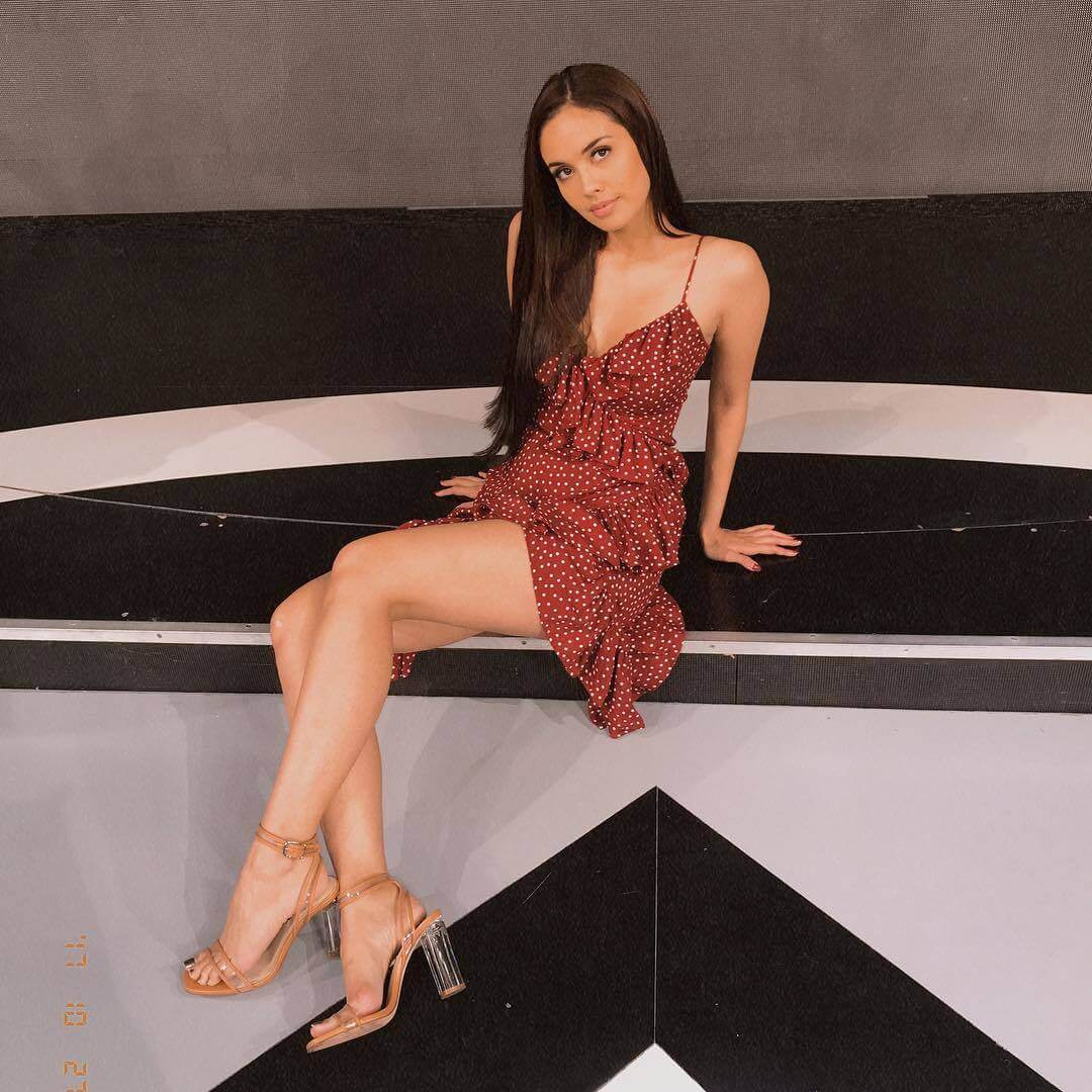 Megan Young sexy legs