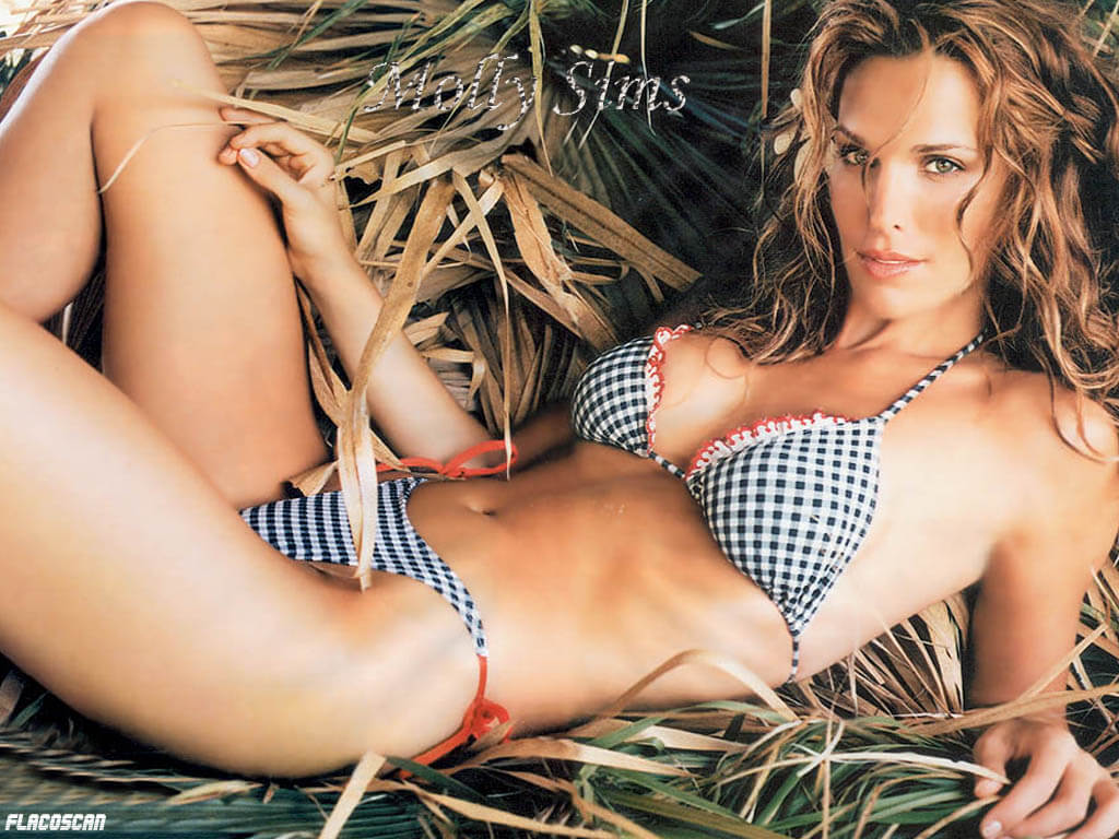 molly sims swimsuit edition diamond bikini photo