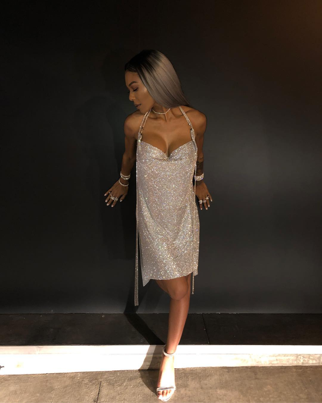 Moniece Slaughter awesome feet pic (2)
