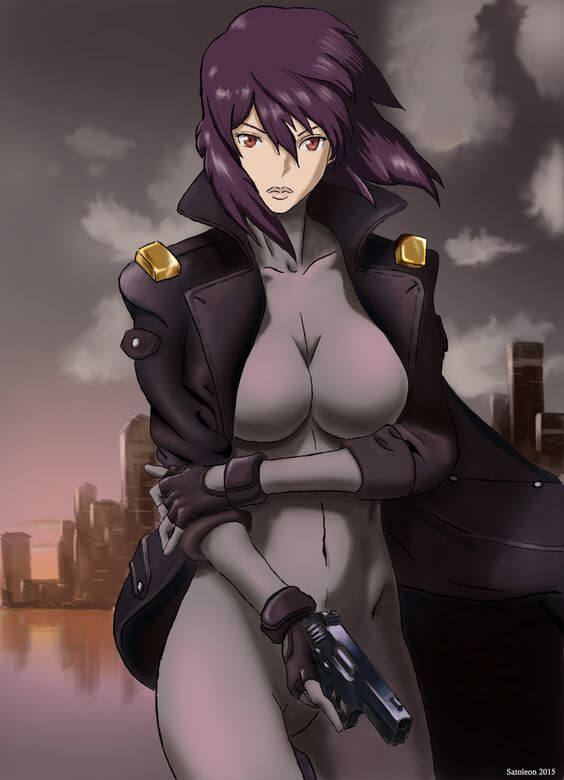 Ghost in the shell sac hentai