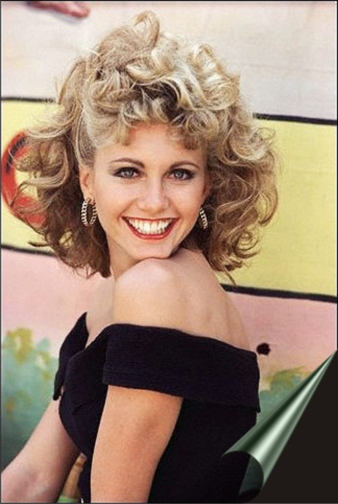 Olivia Newton Curly Hair