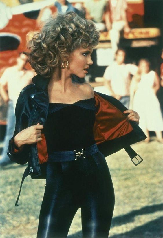 Olivia Newton Hot Dress
