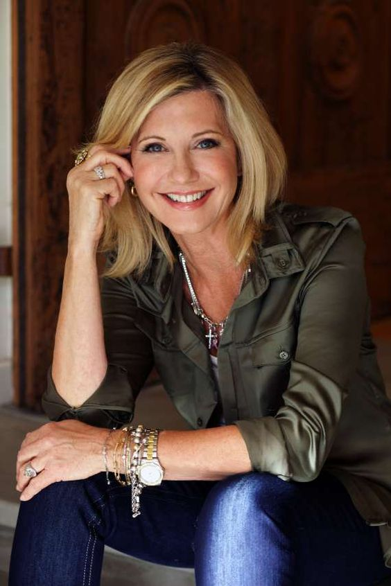 Olivia Newton Smile Photo