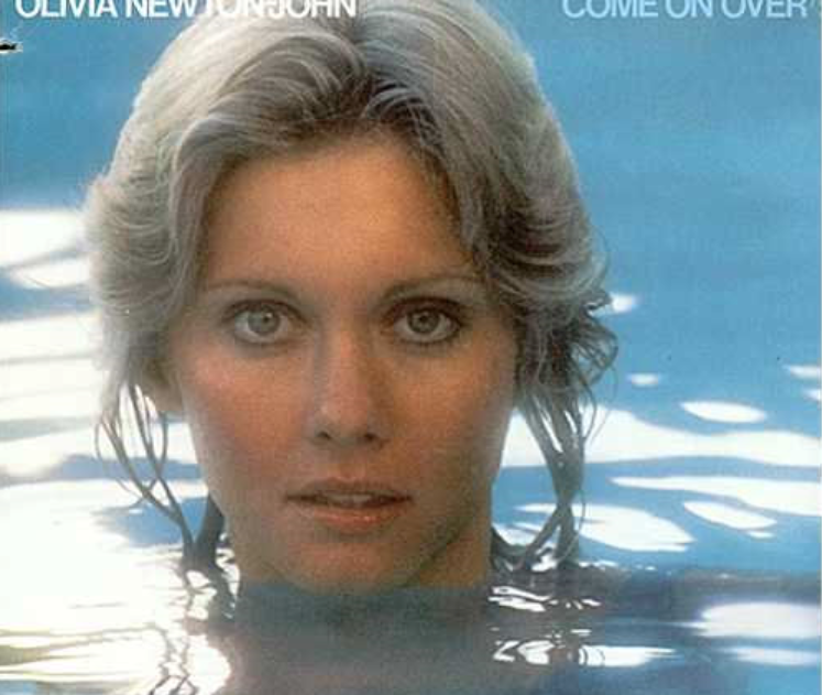 Olivia Newton on Swimming Pool
