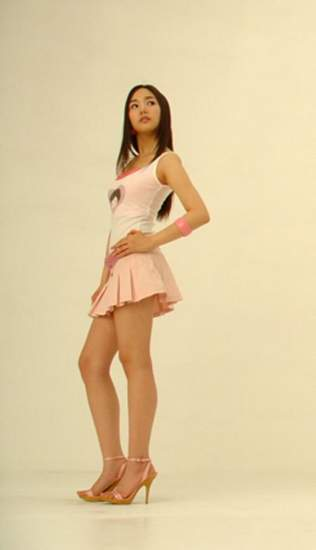 Park Min Young hot legs