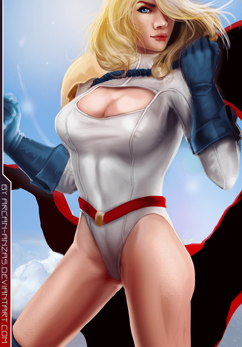 Power Girl awesome pic