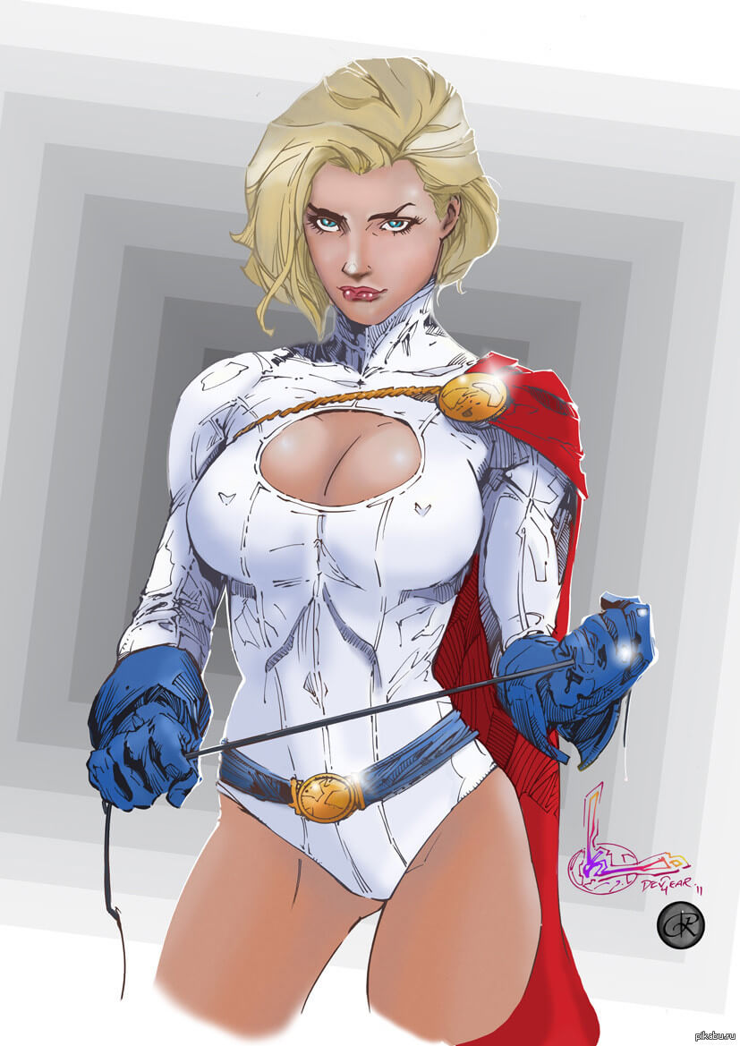 Power Girl awesome pics