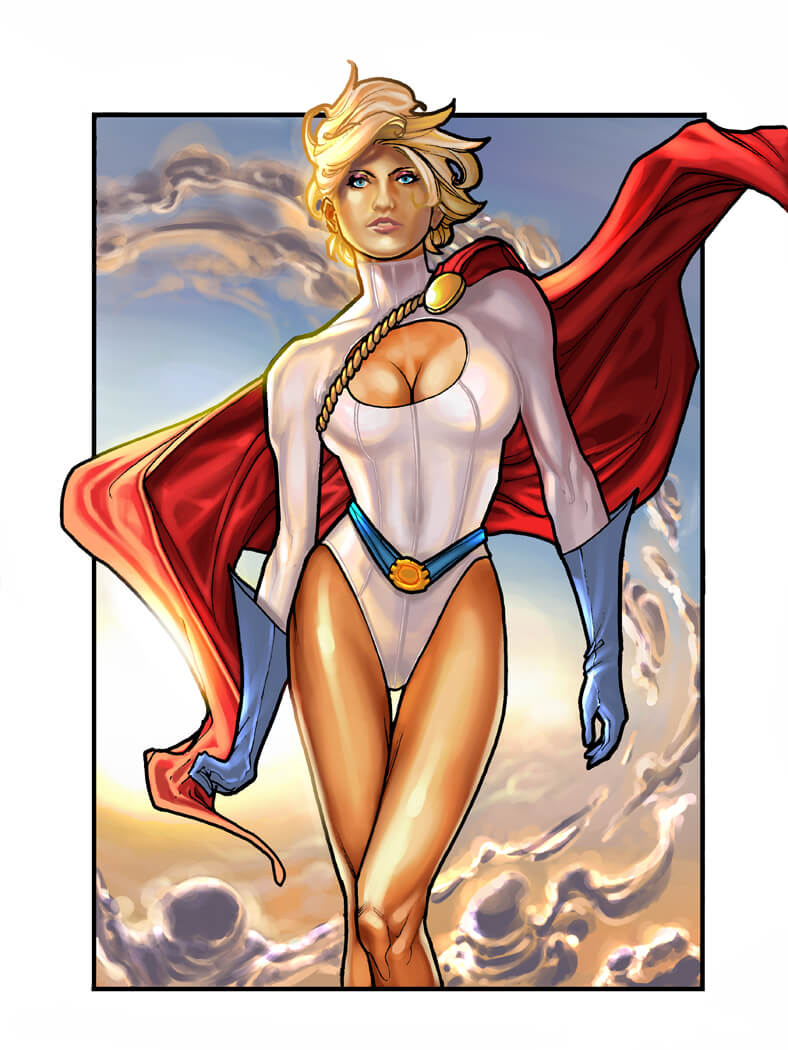 Power Girl awesome pictures