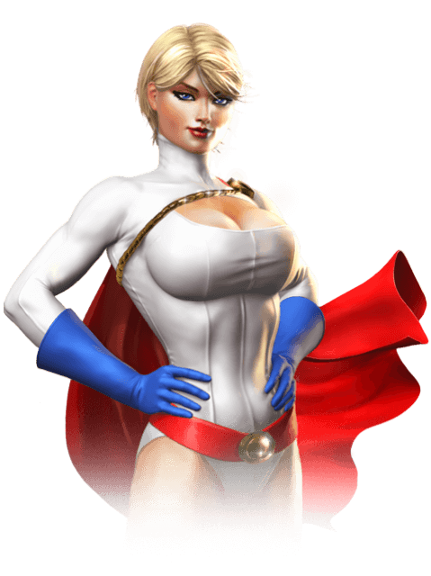 Power Girl cleavages phortos
