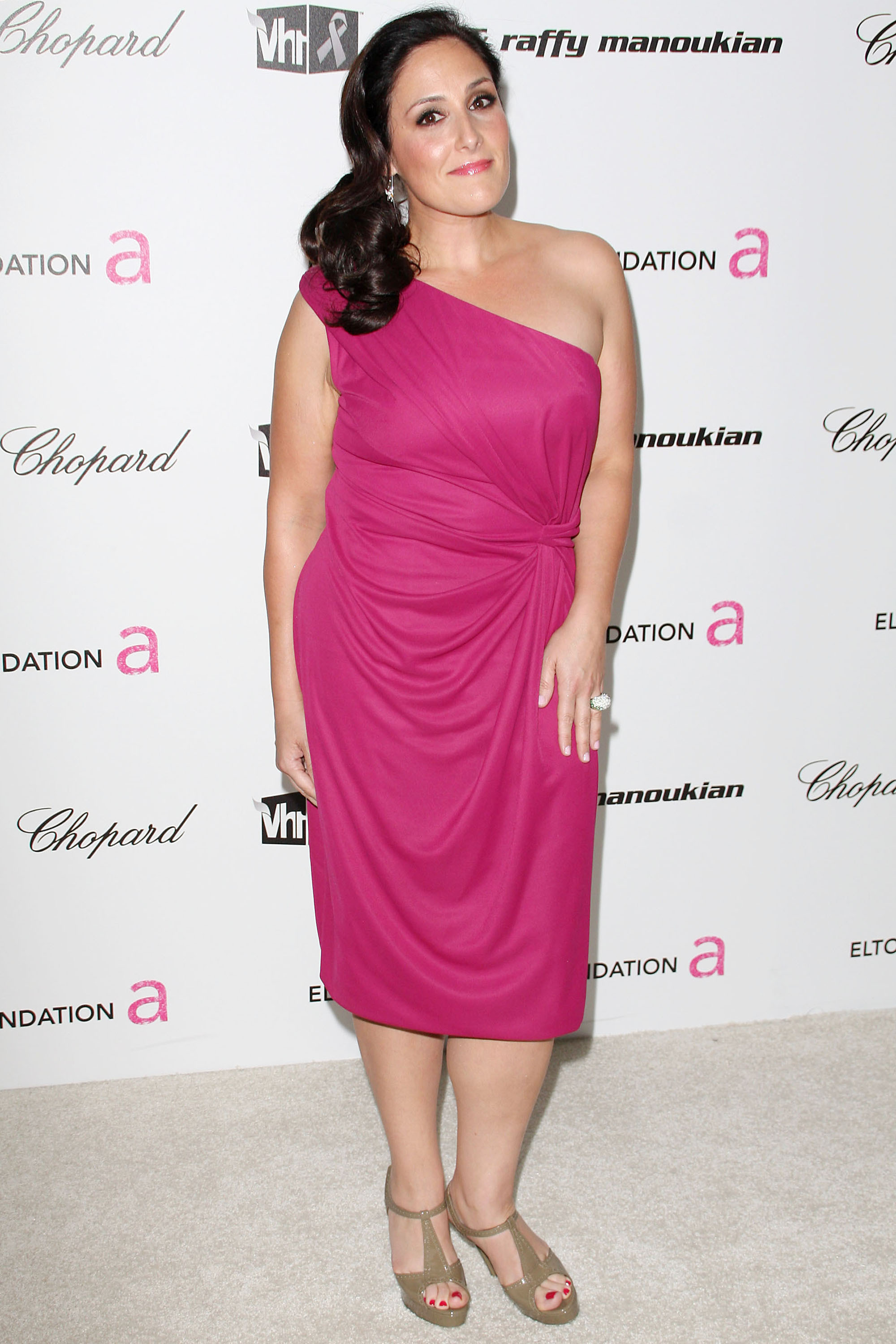 Ricki Lake Hot in Pink Dress