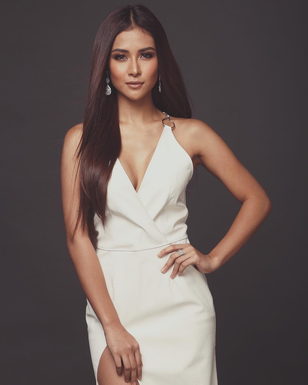 Sanya Lopez HOT WHITE DRESS