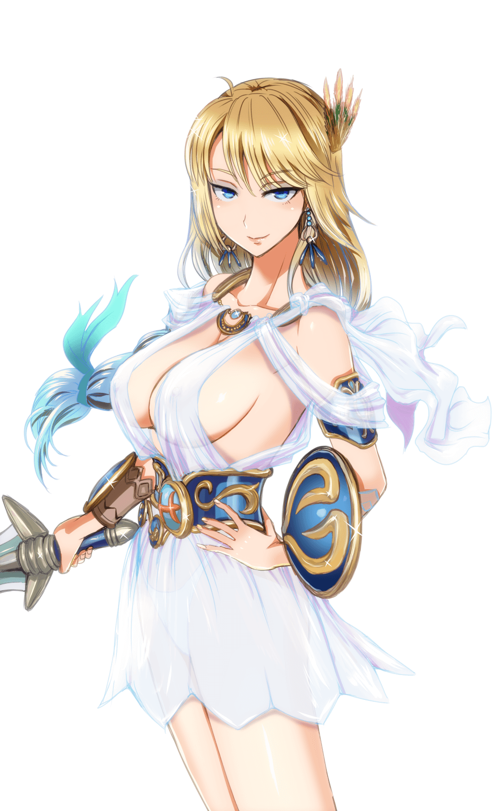 Sophitia sexy cleavage pic