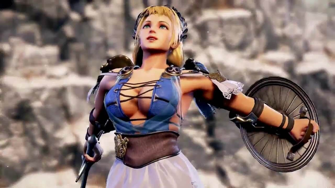 Sophitia sexy cleavage pics (2)