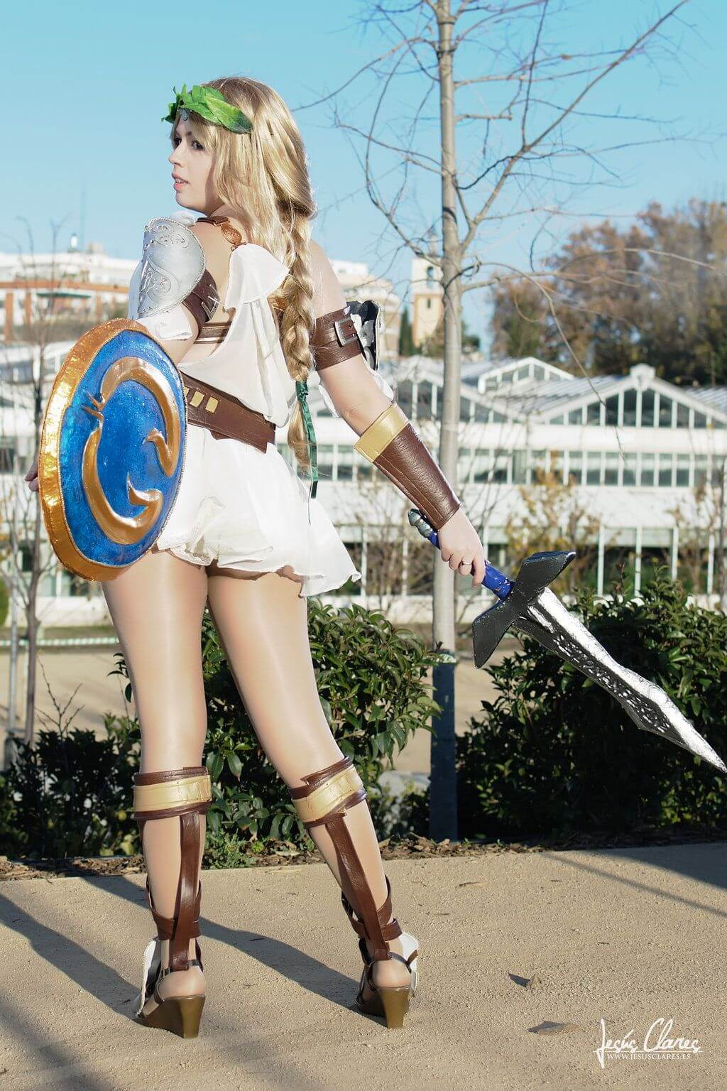 Sophitia sexy thighs