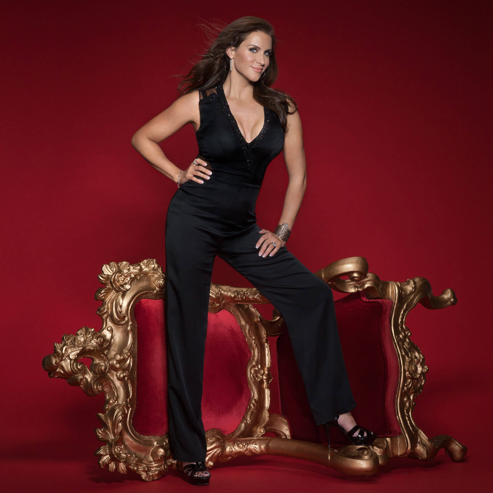 Stephanie mcmahon hot cleavages picture
