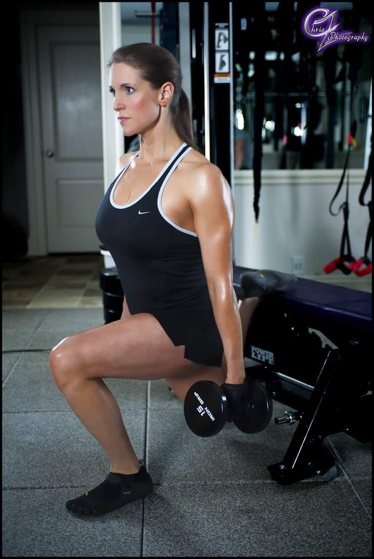 Stephanie mcmahon hot thigh