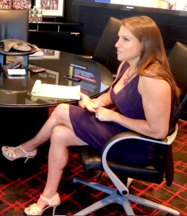 Stephanie mcmahon sexy feet