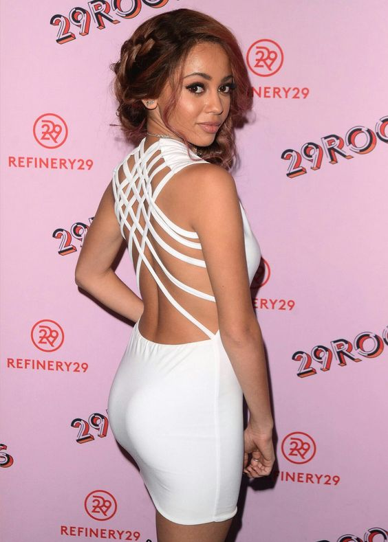 Vanessa Morgan Sexy Back