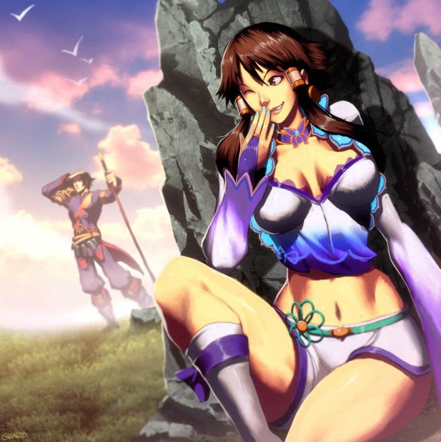 Xianghua (Soul Caliber) beautiful