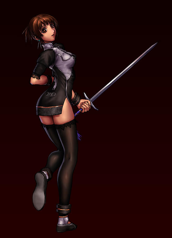 Xianghua (Soul Caliber) hot pictures