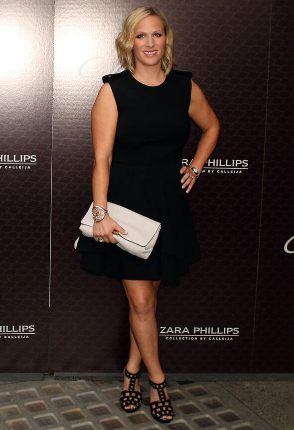Zara Phillips legs
