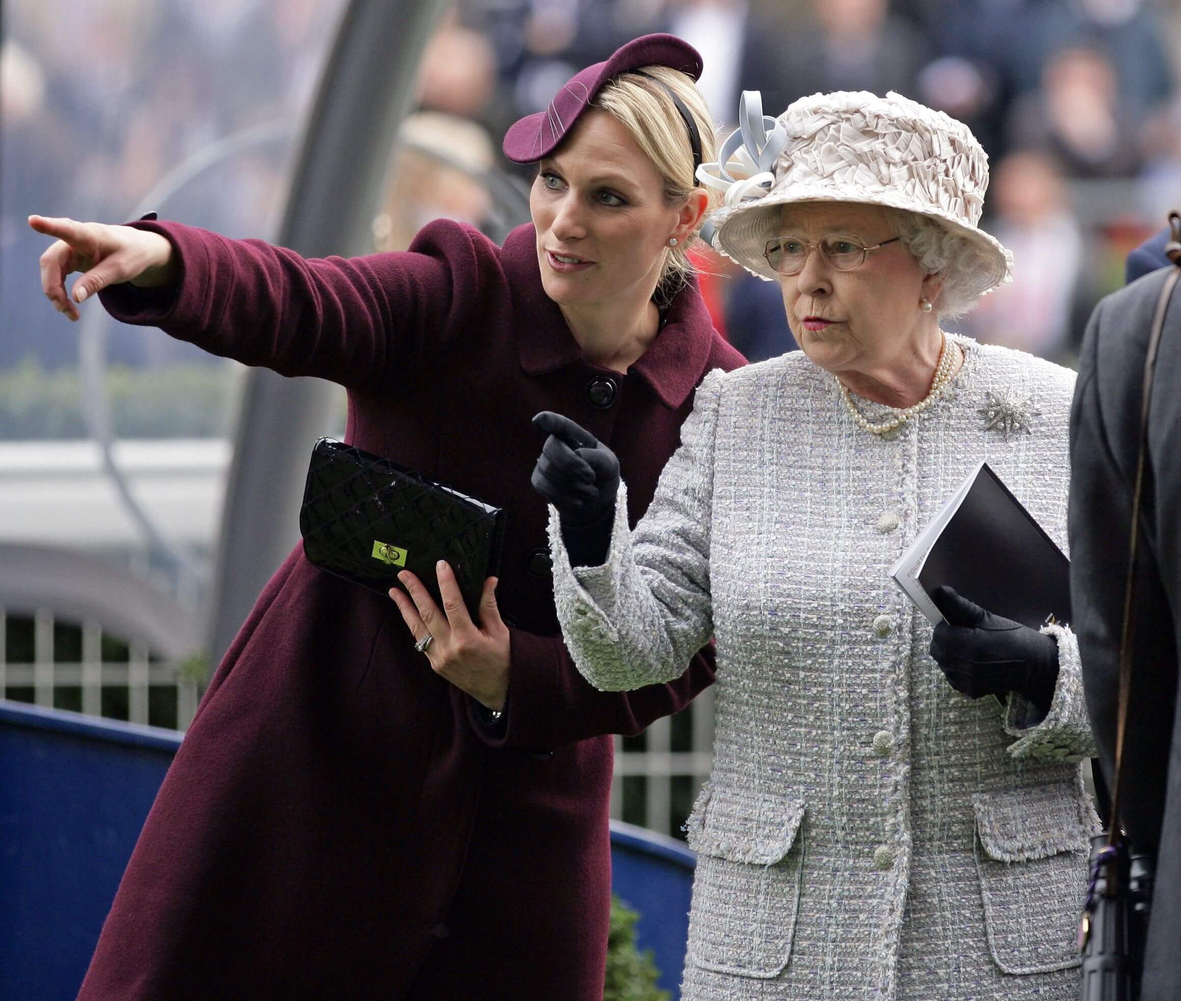 Zara Phillips queen