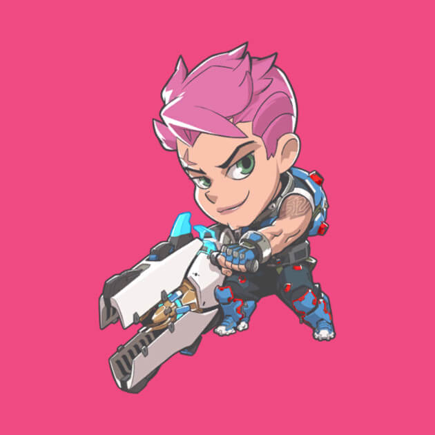 Zarya Overwatch anime