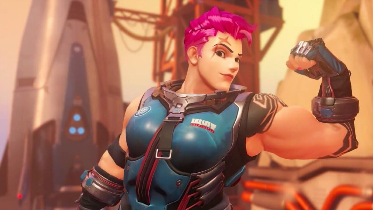 Zarya Overwatch beautiful photos