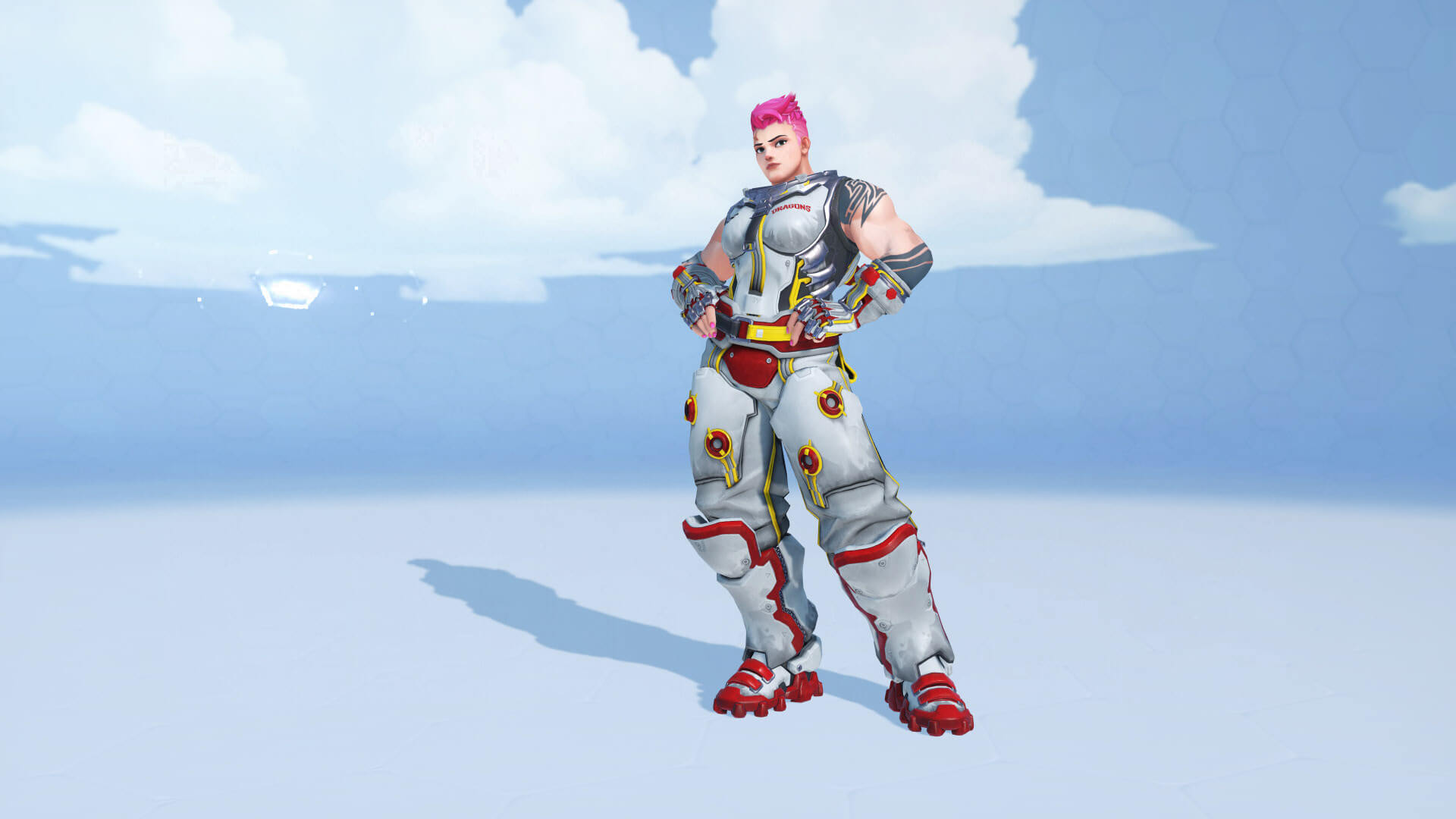 Zarya Overwatch beautiful pic
